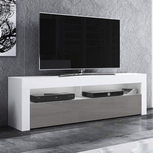 Selsey Living Alan Tv Stand For Tvs Up To 60 Adjustable