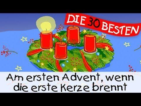 Weihnachtslieder Zum Mitsingen.Am Ersten Advent Wenn Die Erste Kerze Brennt Weihnachtslieder Zum