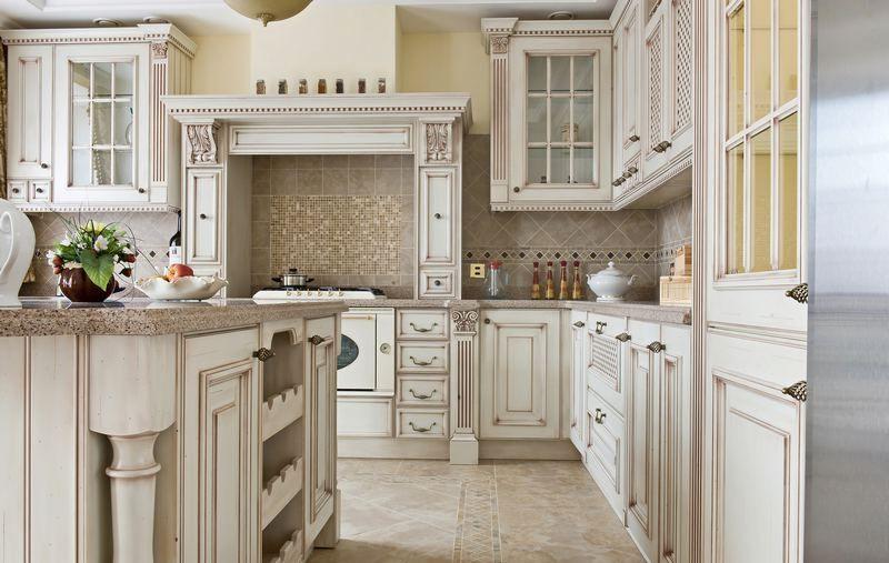 Image Result For Vintage Looking Kitchen Cabinets Antique White Kitchen Cabinets Antique White Cabinets Antique White Kitchen