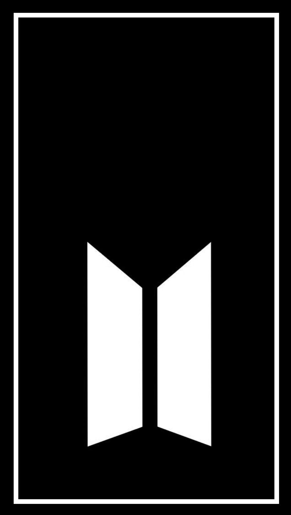 Bts Logo Wallpaper Bts In 2019 Pinterest Bts Wallpaper Bts