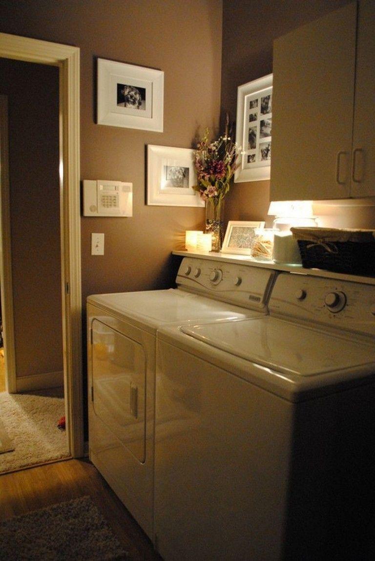 40 perfect farmhouse laundry room decorating ideas small