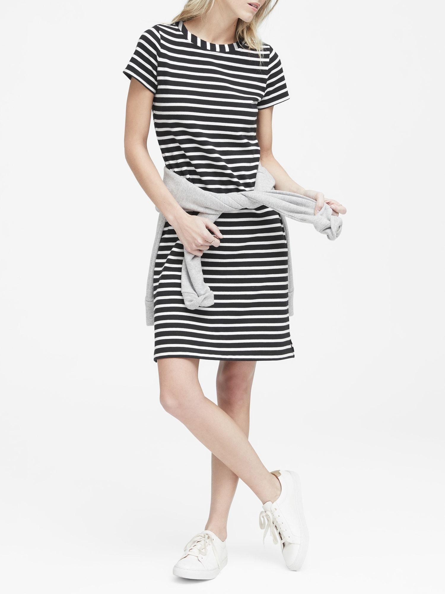 25576c21a8d638 Stripe T-Shirt Dress in 2019 | Wish list | Striped t shirt dress ...