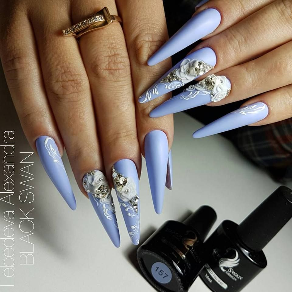 3d Acrylic Nail Art Step By Step: 51 Exclusive 3D Nail Art Ideas That Are In Trend This