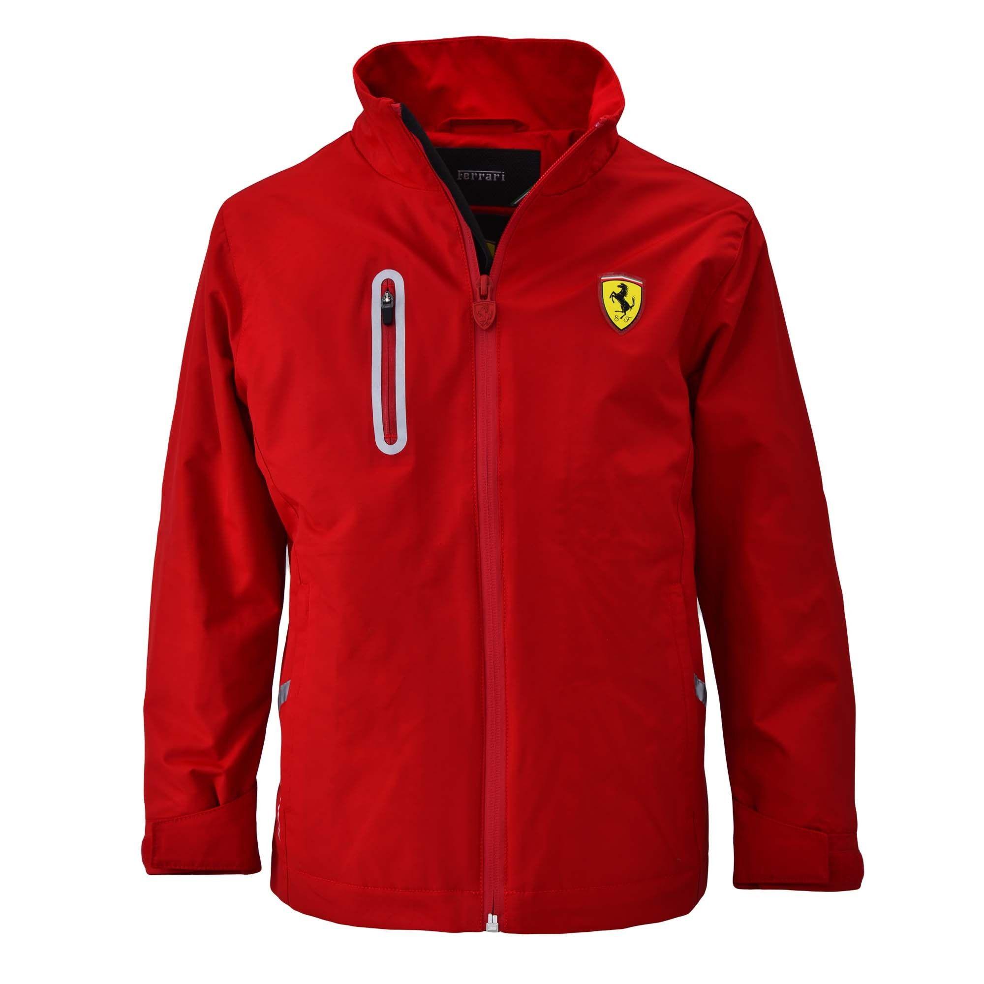 Kid S Ferrari Shield Jacket Ferrari Store Mens Outdoor Jackets Jackets Mens Jackets