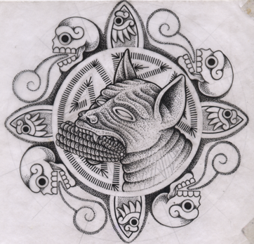 Xolotl What I Like Arte Chicano Arte Mexicano Arte Azteca