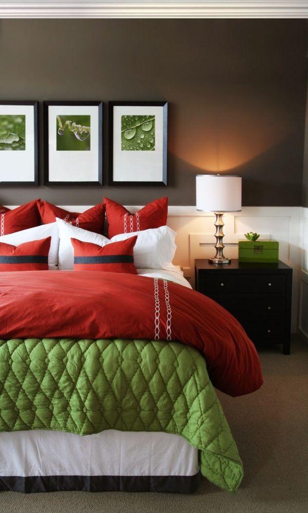 Farbideen für Schlafzimmer - wollen Sie eine attraktive - schlafzimmer farbidee