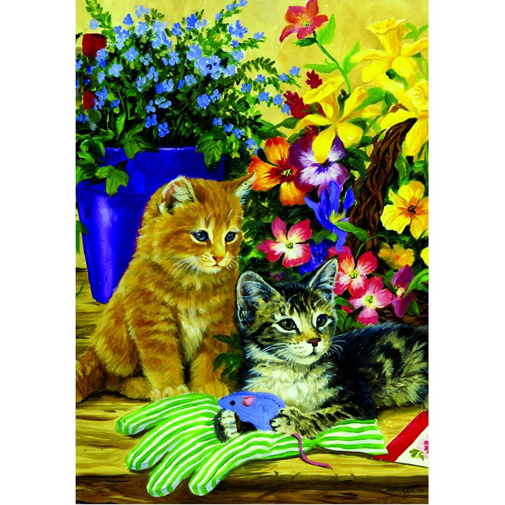 Custom Decor Little Bloomers Garden Flag | Stuffs I Like | Pinterest