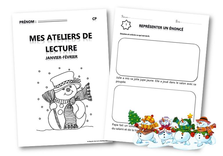 Epingle Sur Ateliers Lecture Cp