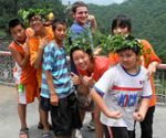 """""""A great group of students participated in the China Summer Teaching Program in 2011 — three weeks in a beautiful and remote area of the Hunan province. They taught, traveled, hiked, made bonds, and ate a whole lot of wonderful food."""""""