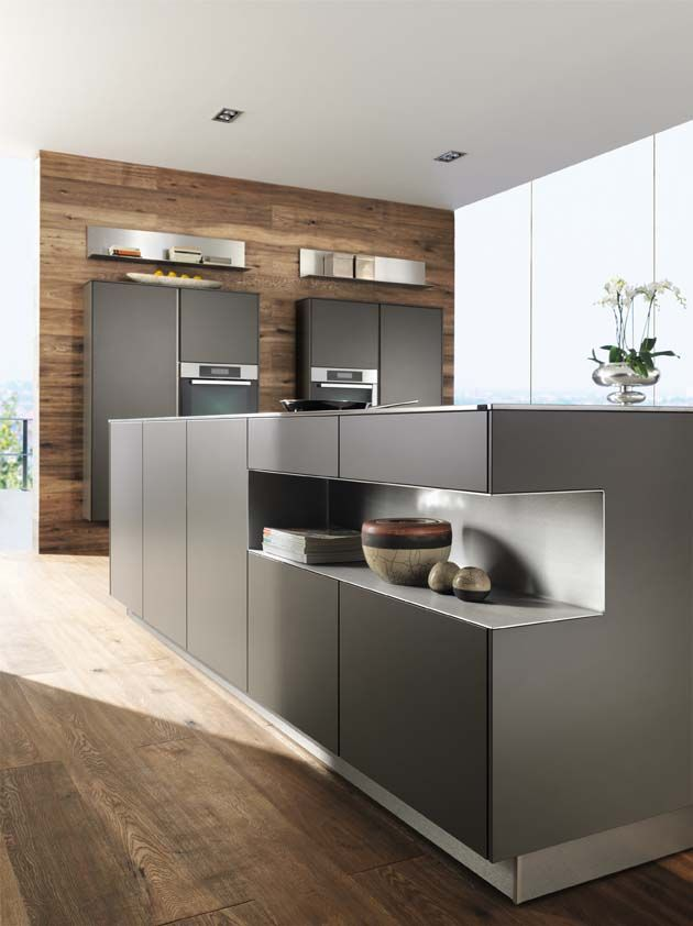 Best Lava Grey Kitchen Units With Walnut A Winning 400 x 300