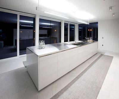 Houten keuken keukenverlichting kitchen lights verlichting