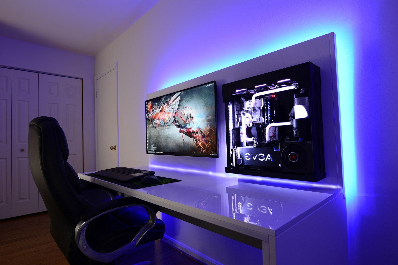 Post a pic of your setup page 568 setup gamer - Fauteuil moderne honken workstation par blastation ...