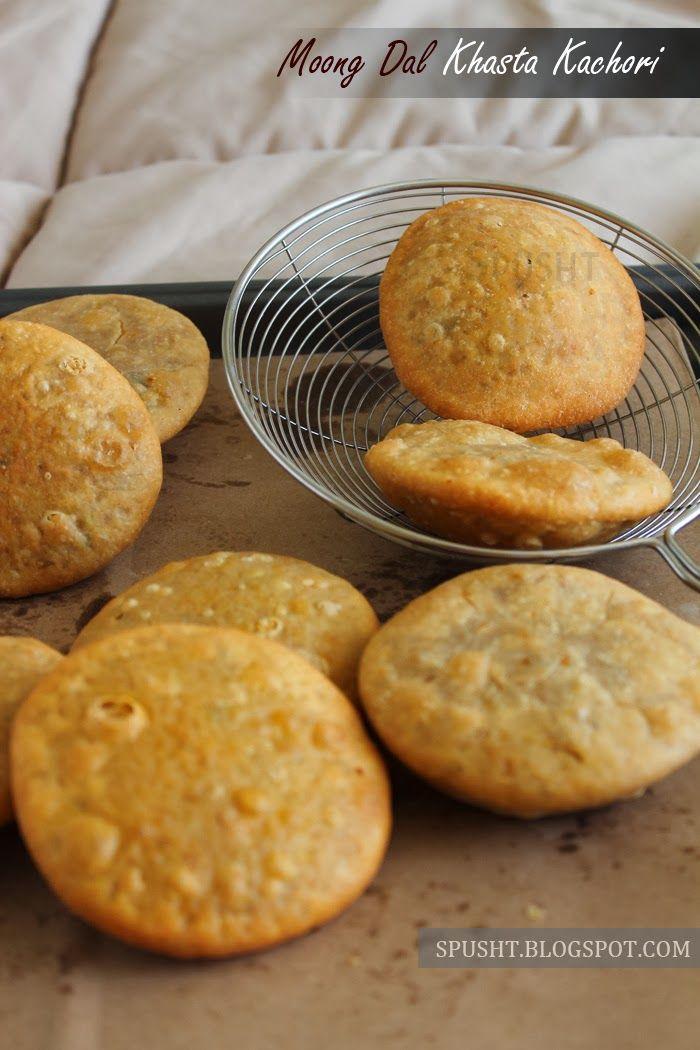 Moong dal khasta kachori indian snack pinteres indian vegetarian recipes forumfinder Gallery