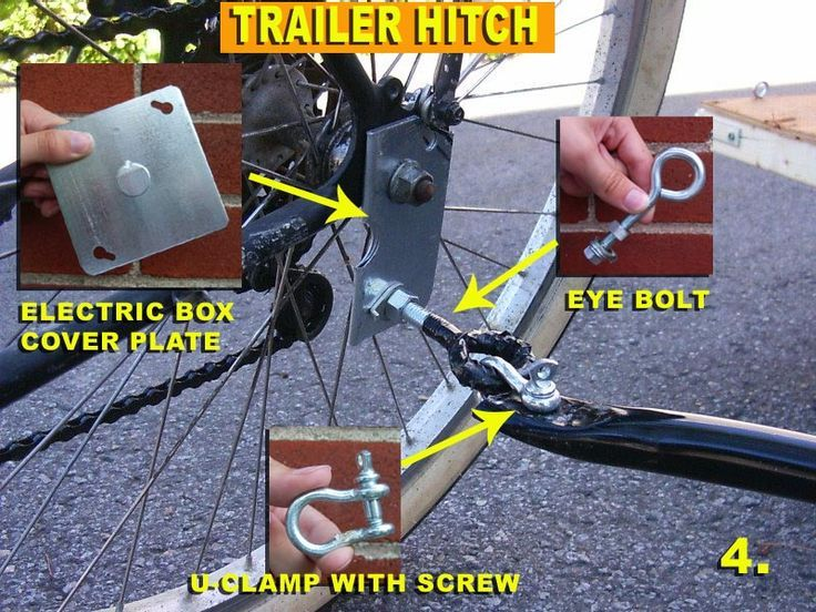 Image Result For Diy How To Attach Wagon To Bike Bike Trailer