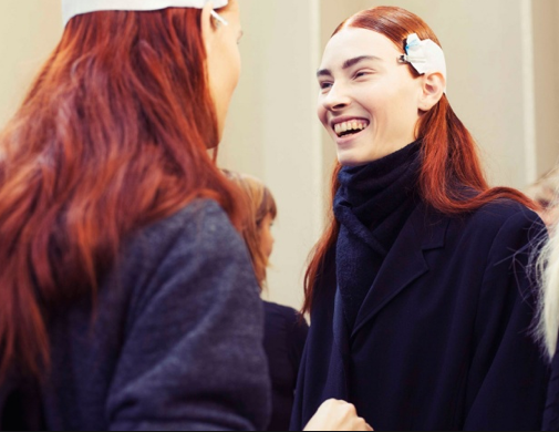 Marni's red head