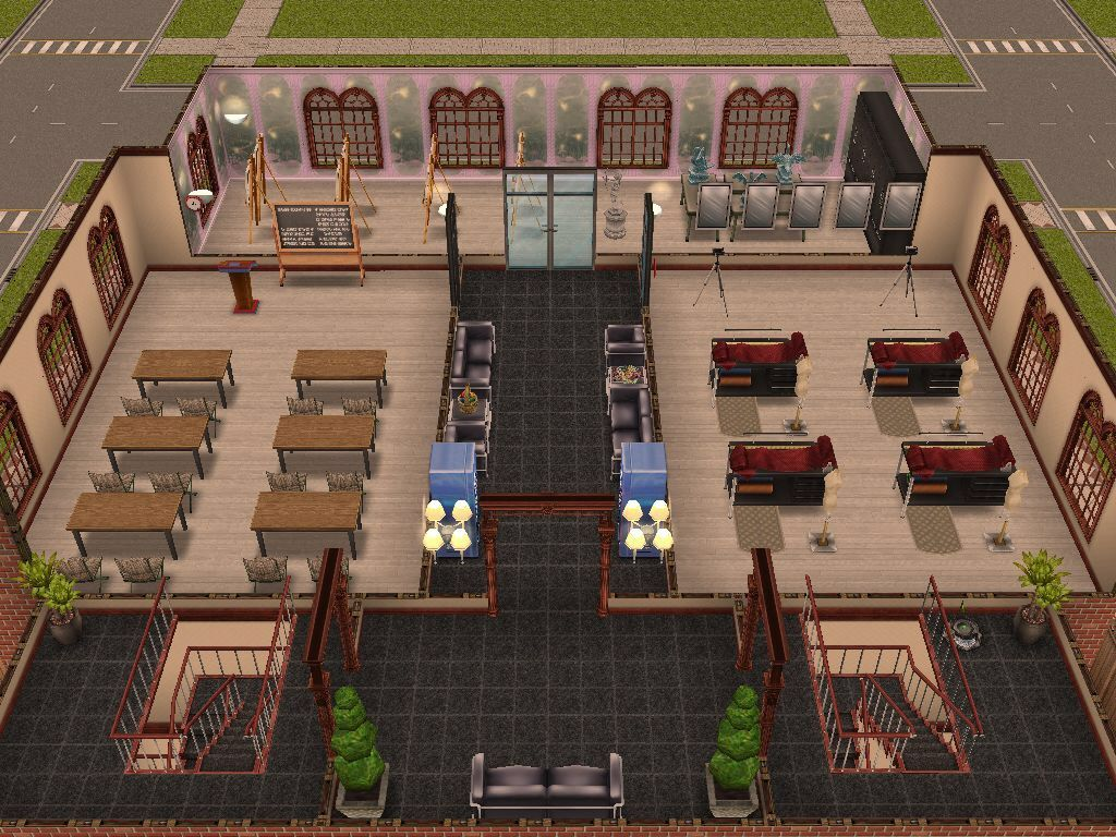 Sims Freeplay Library Original House Design Sims House Sims Sims Free Play