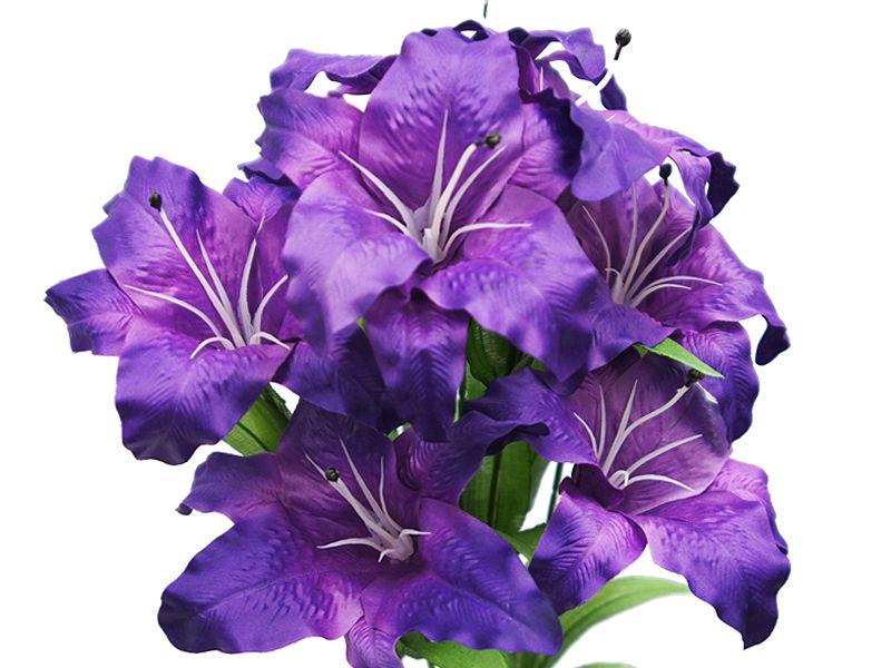 54 supersized casa blanca lilies purple efavormart with
