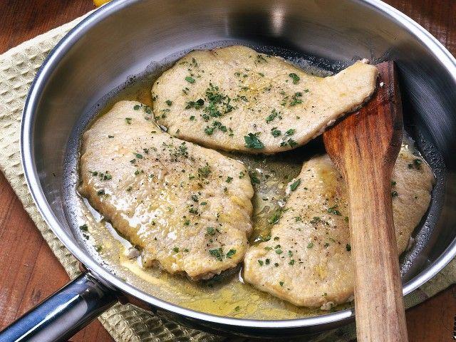 Scaloppine di vitello al limone sale pepe ricetta for Secondi di carne