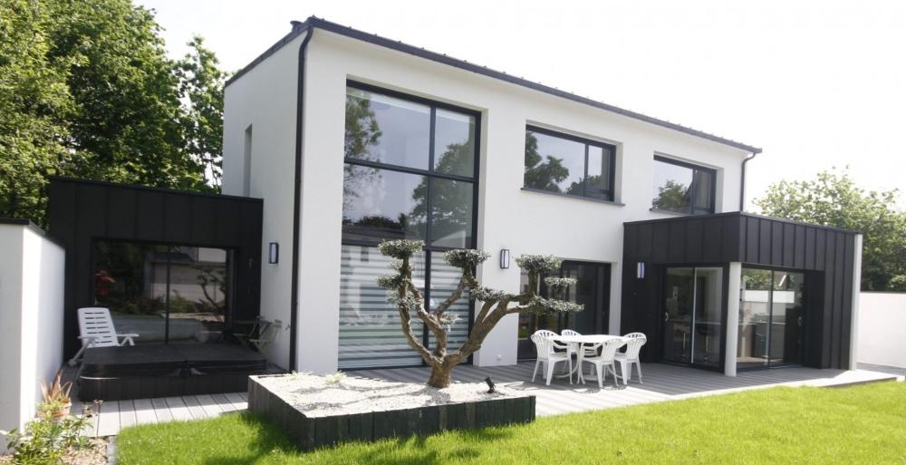 Tarifs Et Prix Construction Maison Plan Maison Contemporaine Bretagne Prix Construction Maison Maison Ecologique Constructeur Maison Bretagne