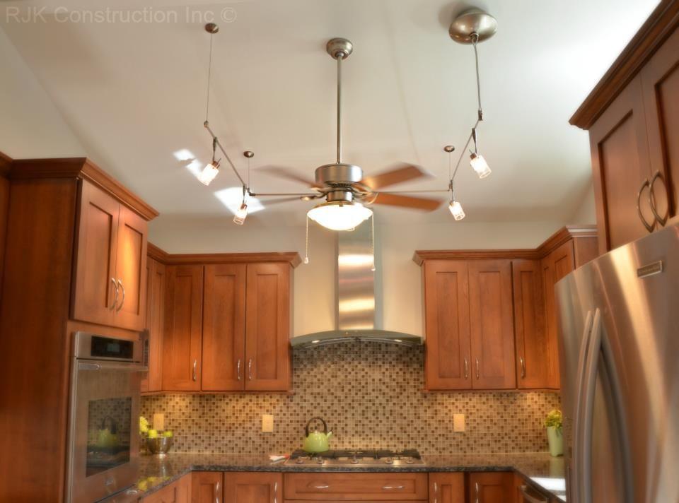 Kitchen Ceiling Fan With Lights Google Search Keukendecoratie