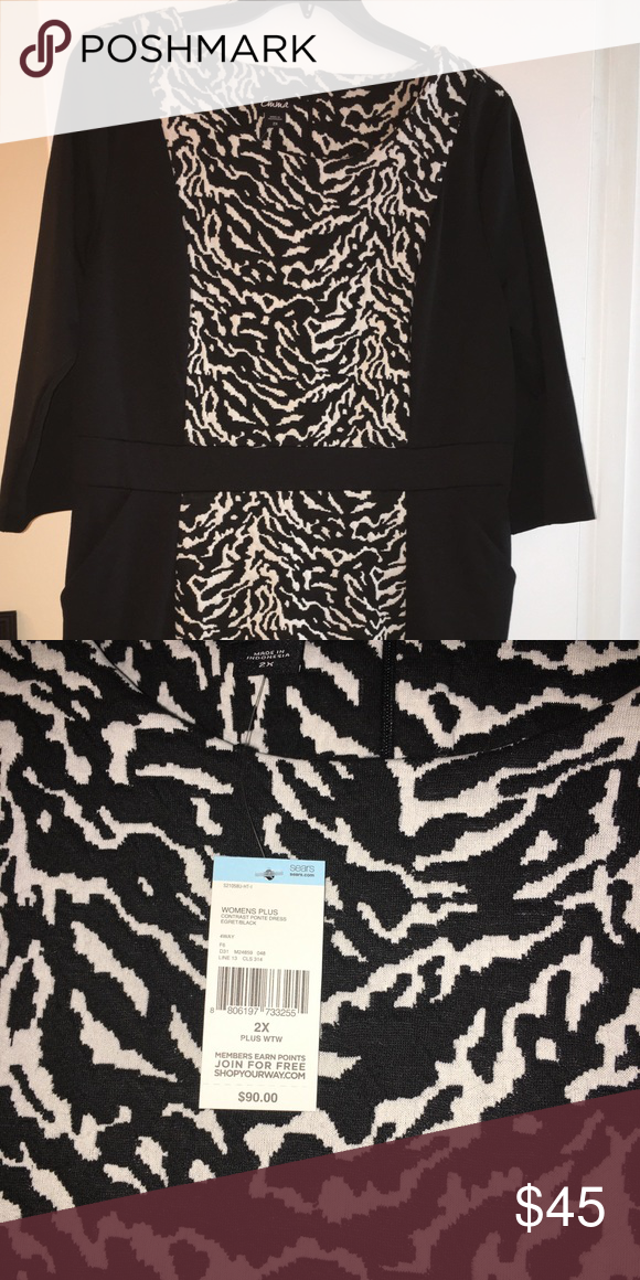 Plus Size Dress Nwt Weather Winter And Customer Support