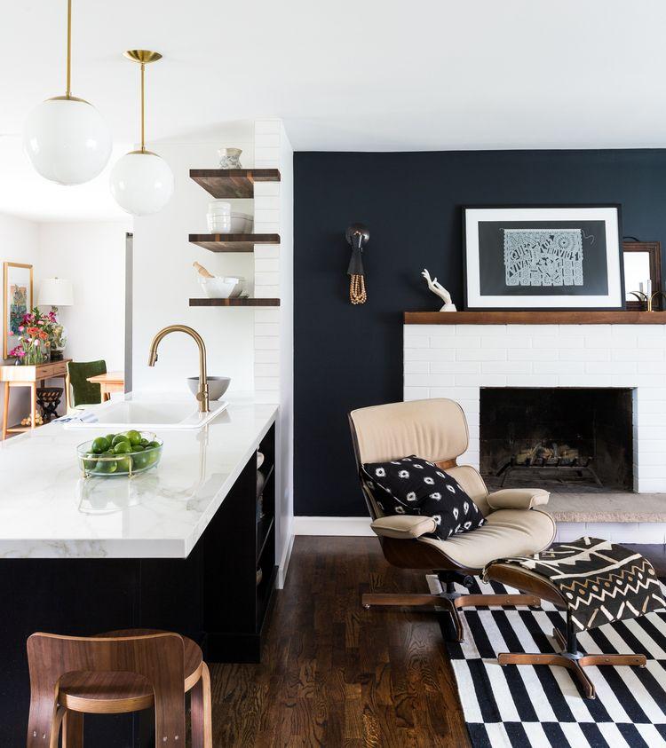 bellevue mid century renovation by brio interior design photograph by haris kenjar brio. Black Bedroom Furniture Sets. Home Design Ideas