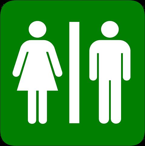 Hombre, Mujer, Baño, Cuarto De Baño | Imagenes de baños ...