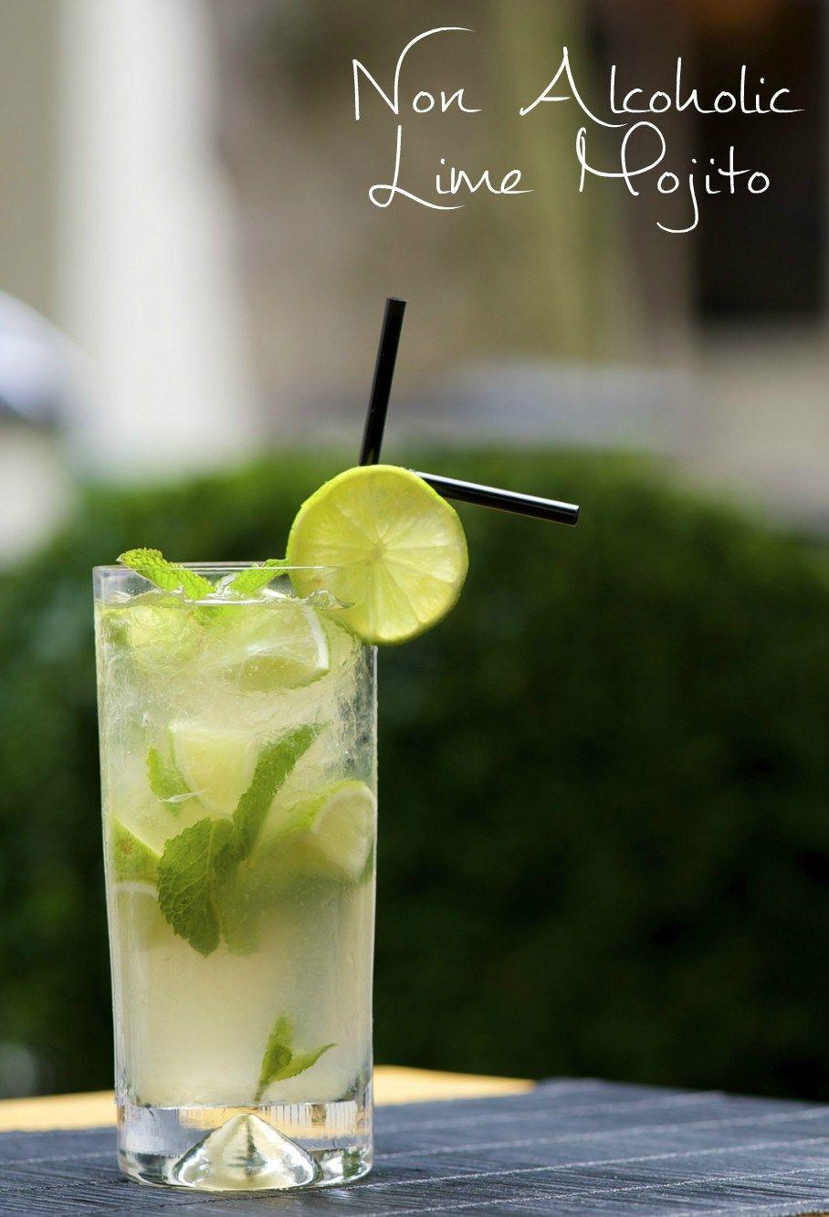 Lime Mojito Mocktail Recipe | Delicious eats | Mojito ...