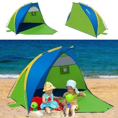 Pop Up Beach Shelter Portable Sun Protection Canopy