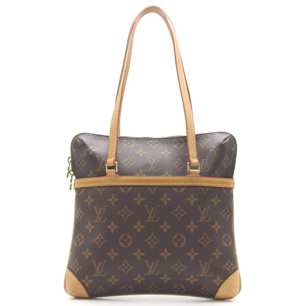 Auth Louis Vuitton Brown Monogram Canvas Kusan GM Shoulder Bag M51141  (DH46064)  fashion 6e3615fc27
