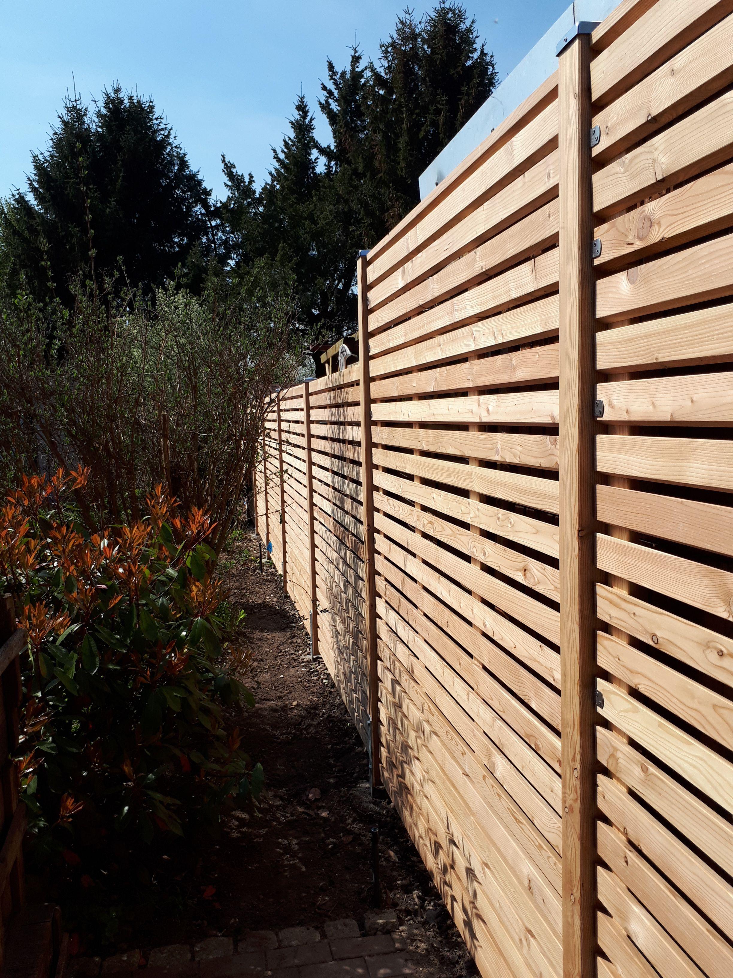 Rhombus Zaun Von Greenfairway E K Gebaut Sichtschutz Aus Holz