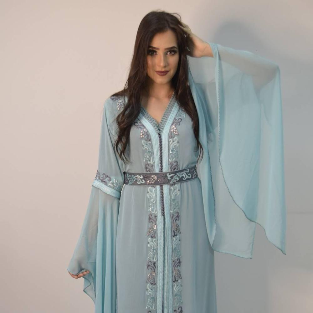 Tendance 2019 : Caftan marocain simple - Caftans Marocains
