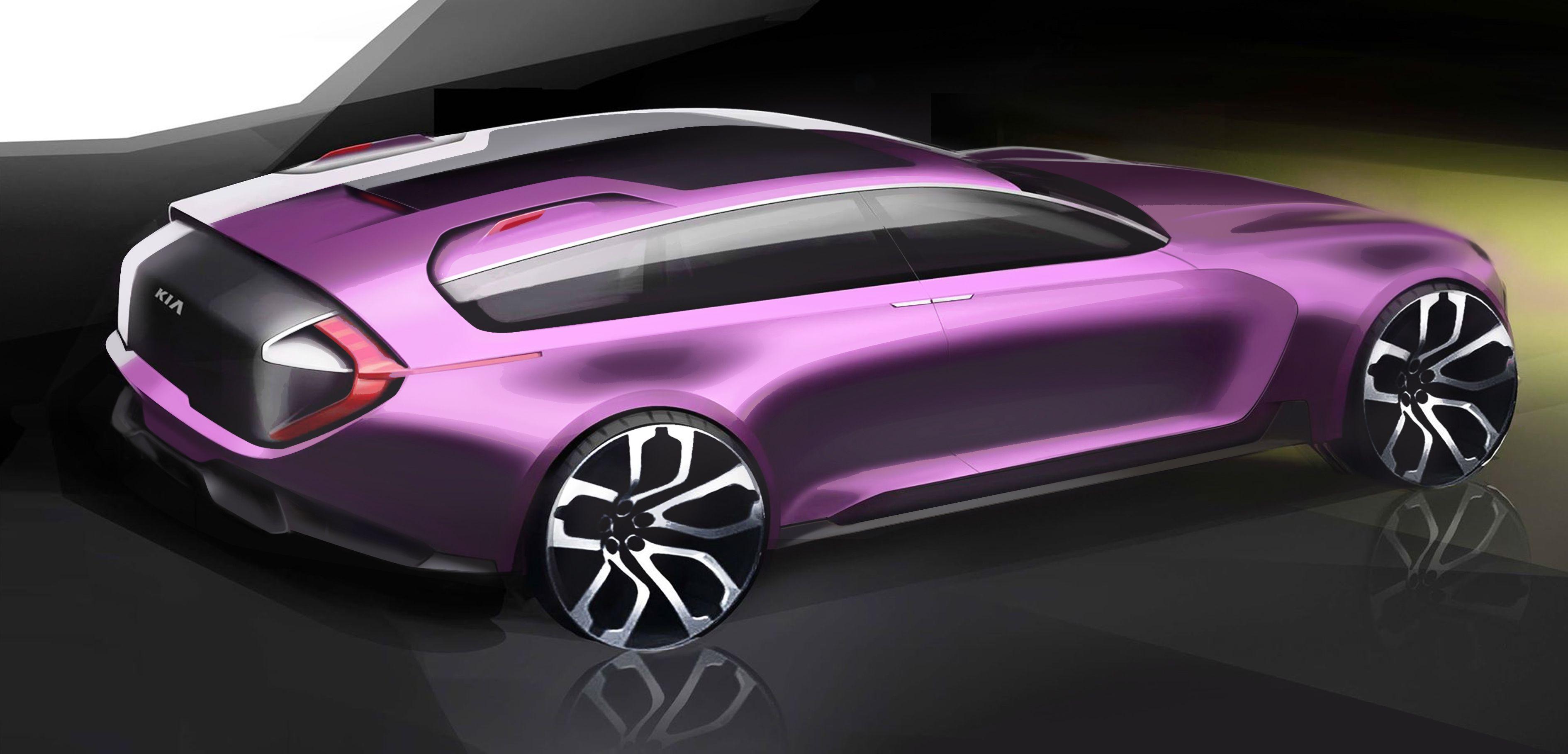 Kia Grandtour Concept On Behance Automotive Design Concept Cars
