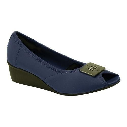 Women's Ros Hommerson Eloise Navy Stretch Fabric