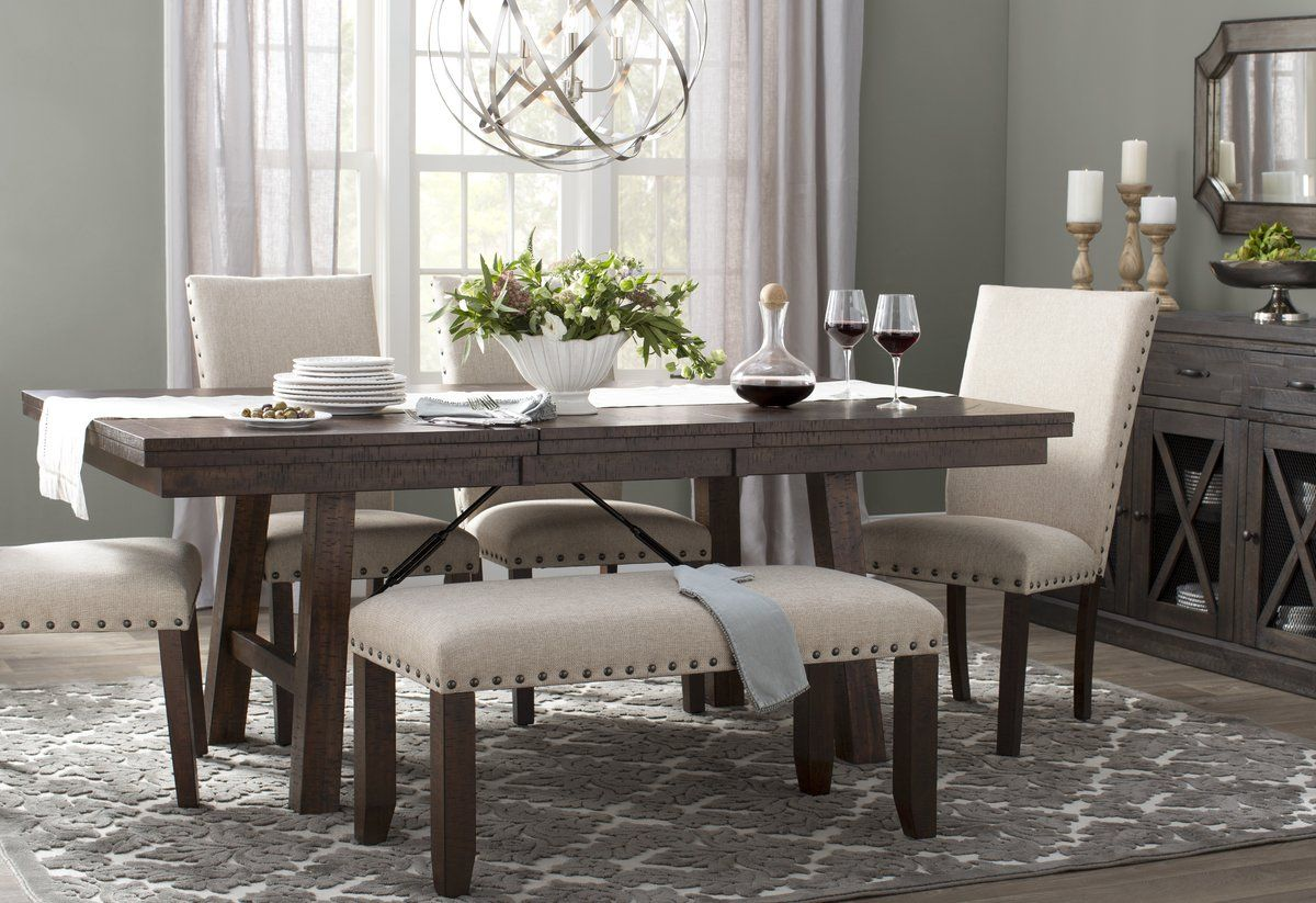 Laurel Foundry Modern Farmhouse Dearing Extendable Dining Table