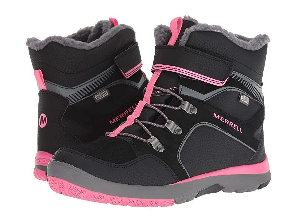 Merrell Boys M-Moab FST Mid a//C Waterproof High Rise Hiking Boots