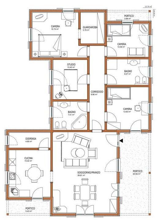 Progetto Case Prefabbricate Progetto Casa Piantine Di Case
