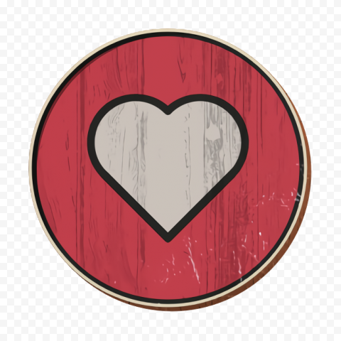 Vintage Facebook Like Heart Love Icon React Facebook Likes Icon Vintage