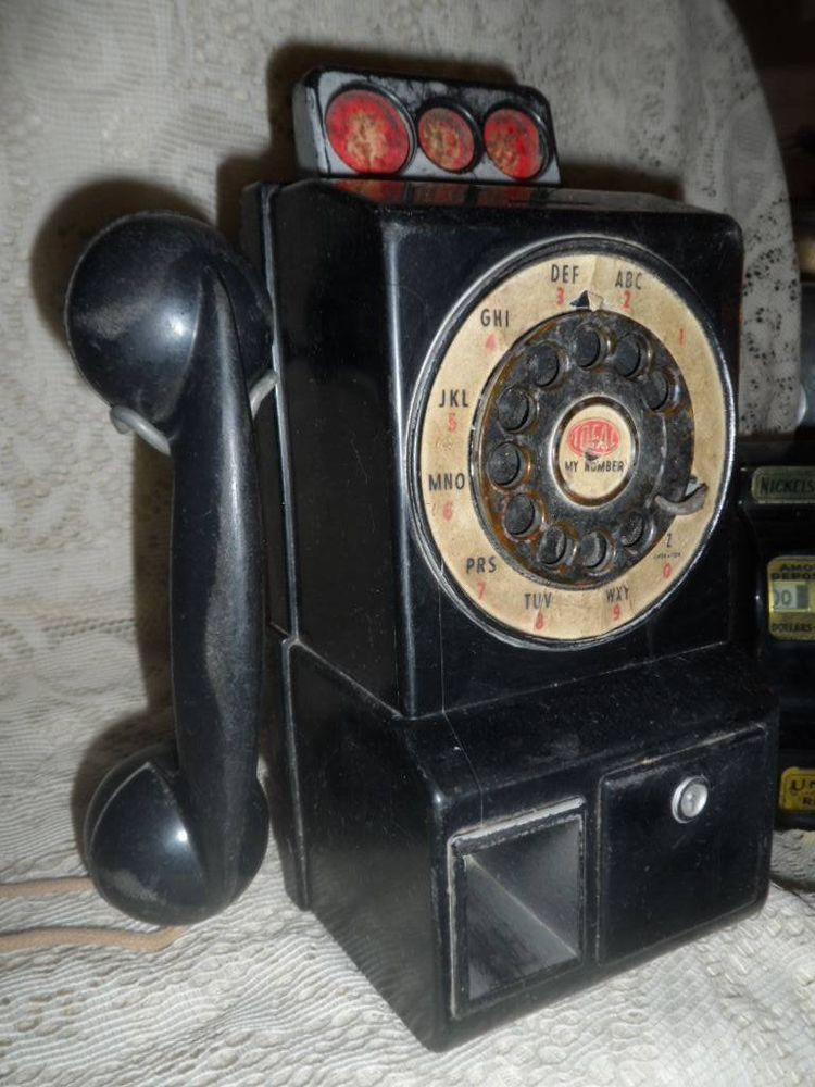 Vintage Black Ideal 1950's Childs Play Toy Antique Pay
