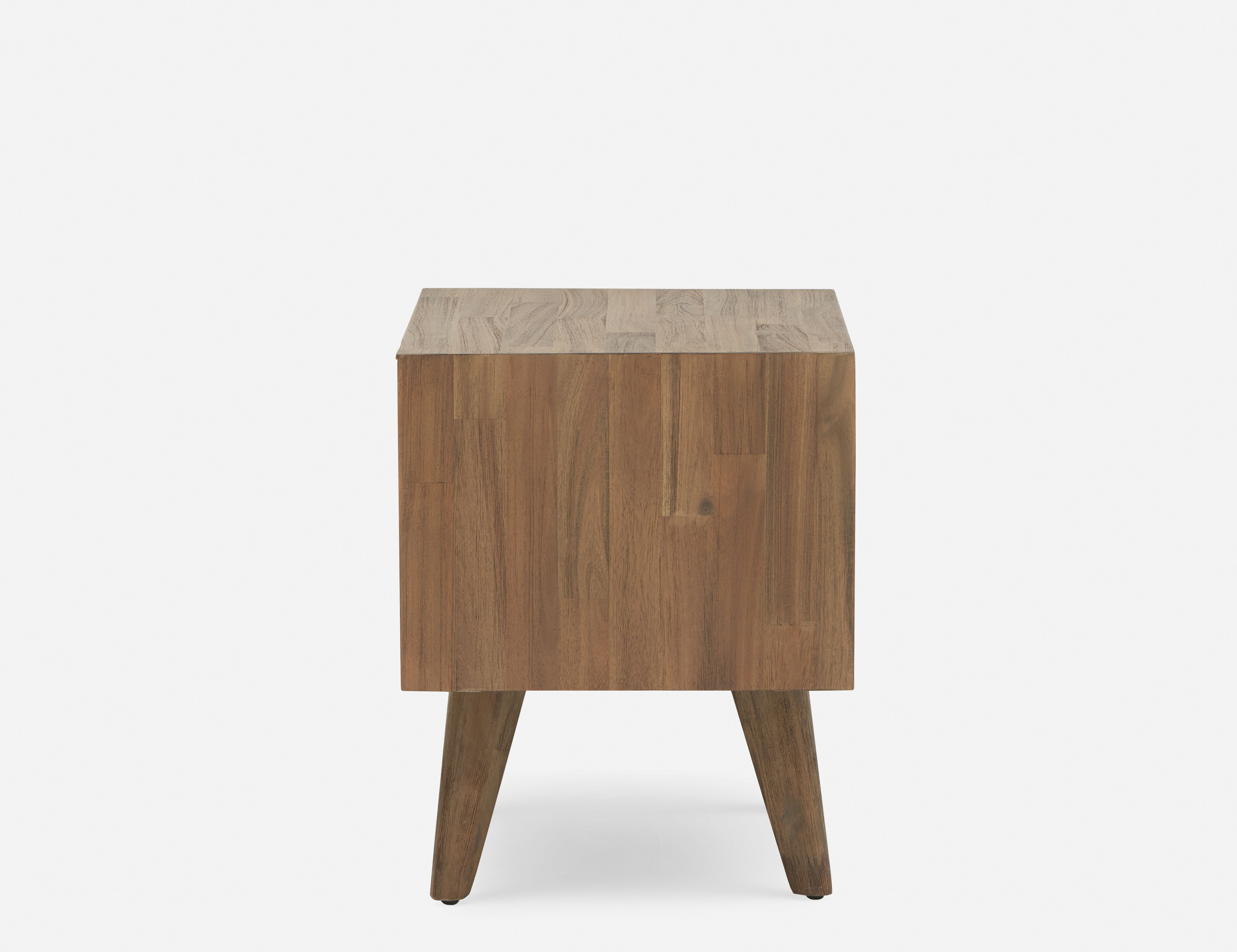 Dina Brown Acacia Wood Bedside Table In 2019 Products