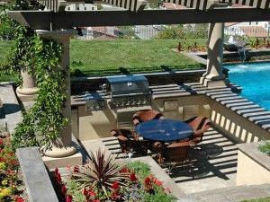 Jos olisi ikuinen kesä ja auringonpaiste, haluaisin tällaisen pation ja takapihan.