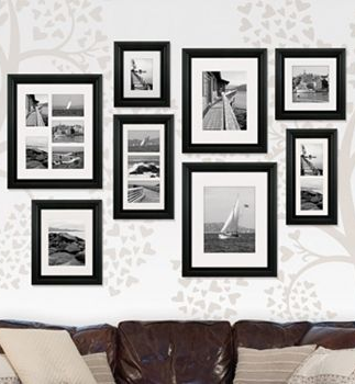 Malden Portrait Matted Gallery Frames