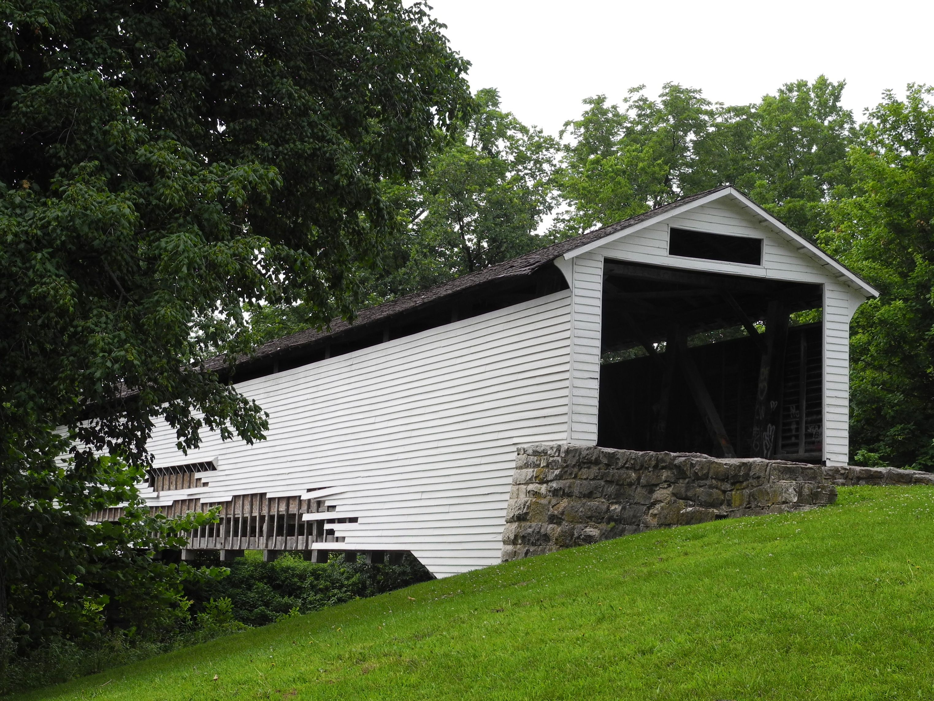 Covered bridges | File:Union Covered Bridge SHS from southeast 1.jpg - Wikipedia, the ...