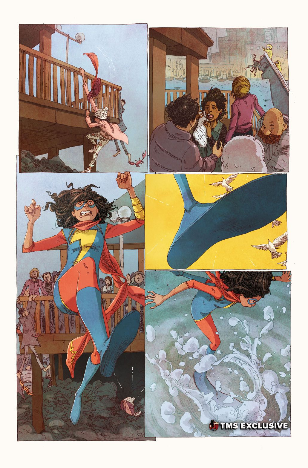 Ms. Marvel #16 - Art by Adrian Alphona