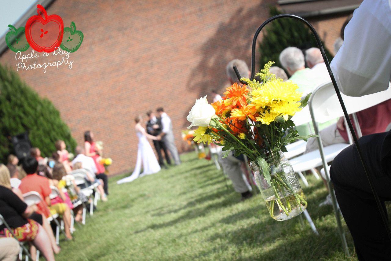wedding angle shot