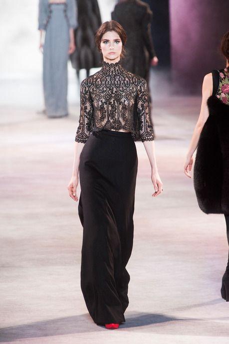 Ulyana Sergeenko Haute couture Automne-hiver 2013-2014