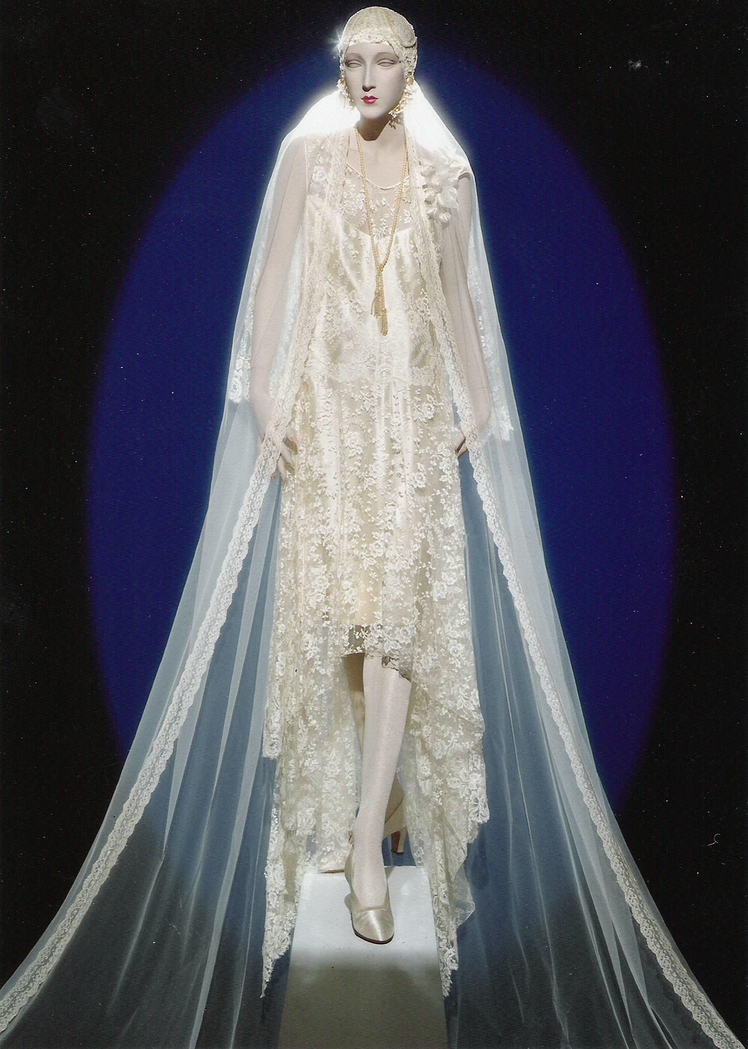 Wedding gown on form with a veil added gowns gowns gowns