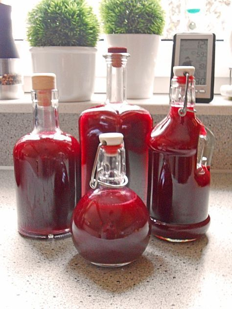 Photo of Forest fruit liqueur