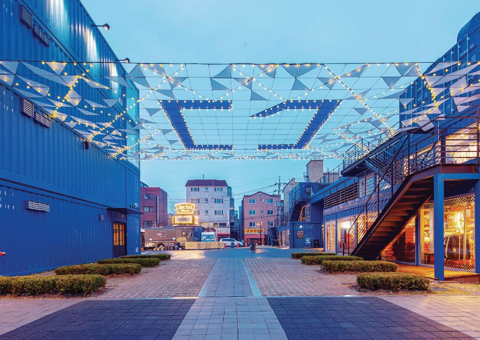 World S Largest Shipping Container Shopping Mall Pops Up