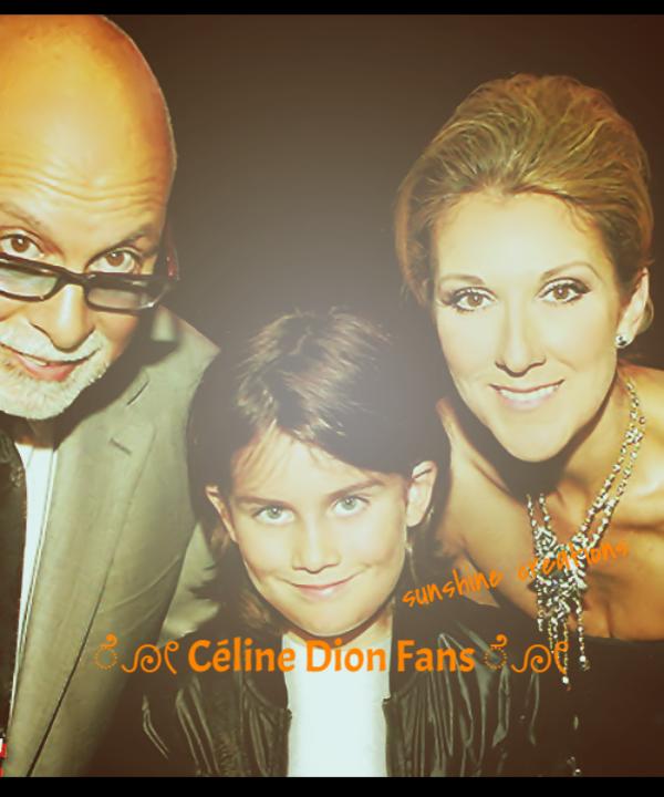 René & Céline & kids